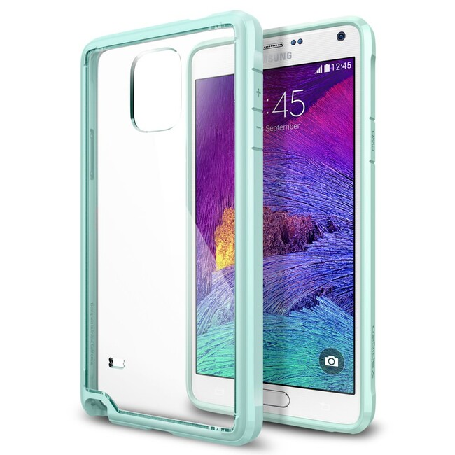 Чехол Spigen Ultra Hybrid Mint для Samsung Galaxy Note 4