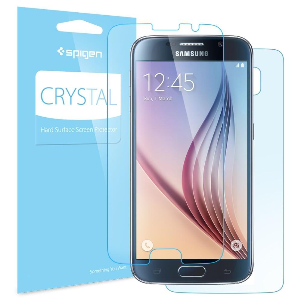 Защитная пленка Spigen Crystal для Samsung Galaxy S6