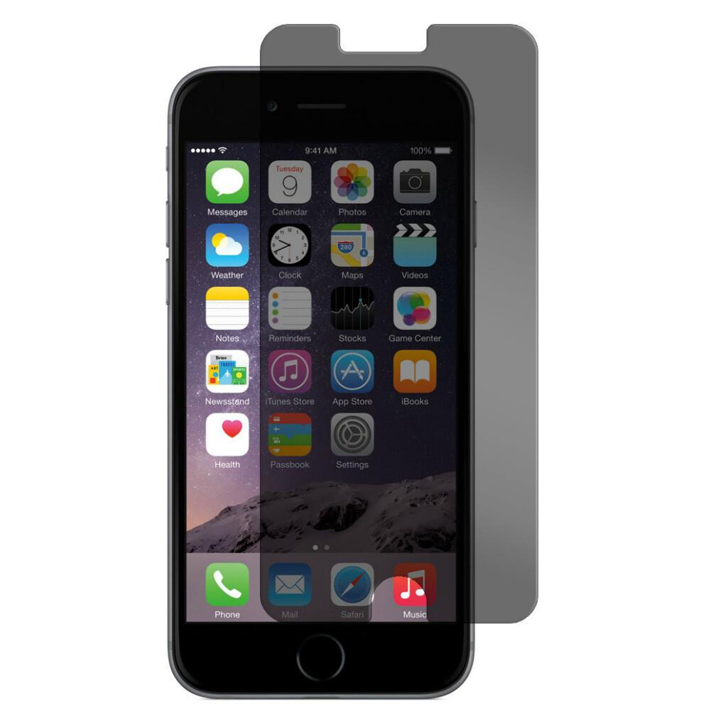 Защитное стекло анти-шпион AntiSpy для iPhone 6/6s Plus