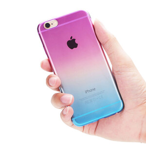 Купить Чехол Silicol 0.6mm Rainbow для iPhone 5/5S/SE