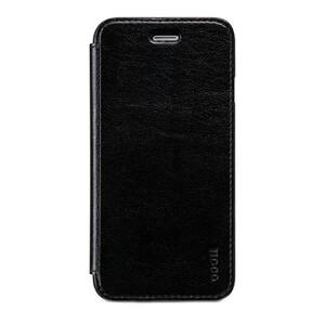 Купить Кожаный боковой флип-чехол HOCO Luxury Series Black для iPhone 6/6s