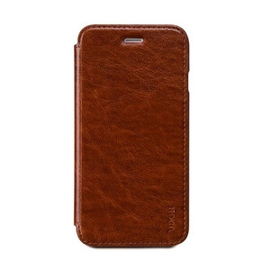Купить Кожаный боковой флип-чехол HOCO Luxury Series Brown для iPhone 6/6s
