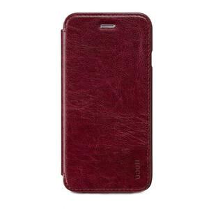 Купить Кожаный боковой флип-чехол HOCO Luxury Series Red для iPhone 6/6s