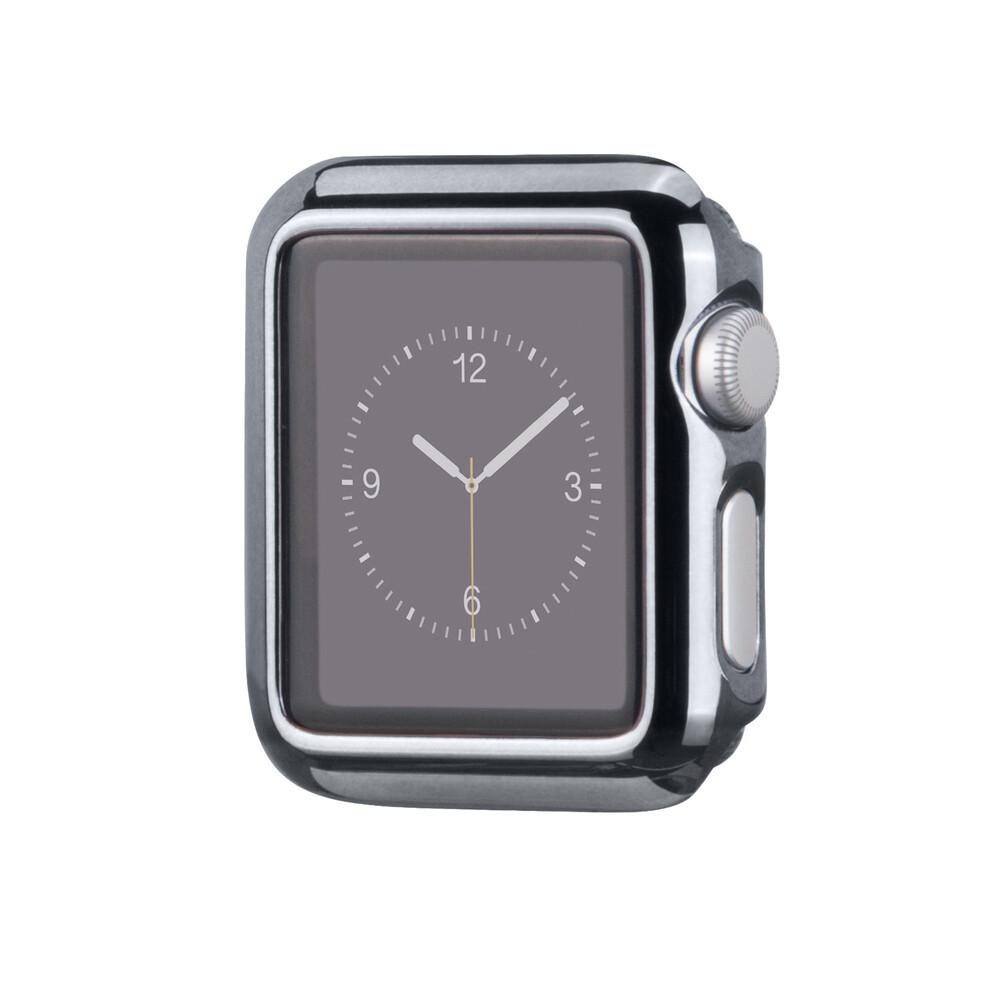Чехол HOCO Defender Series Plating Black для Apple Watch 38mm Series 2