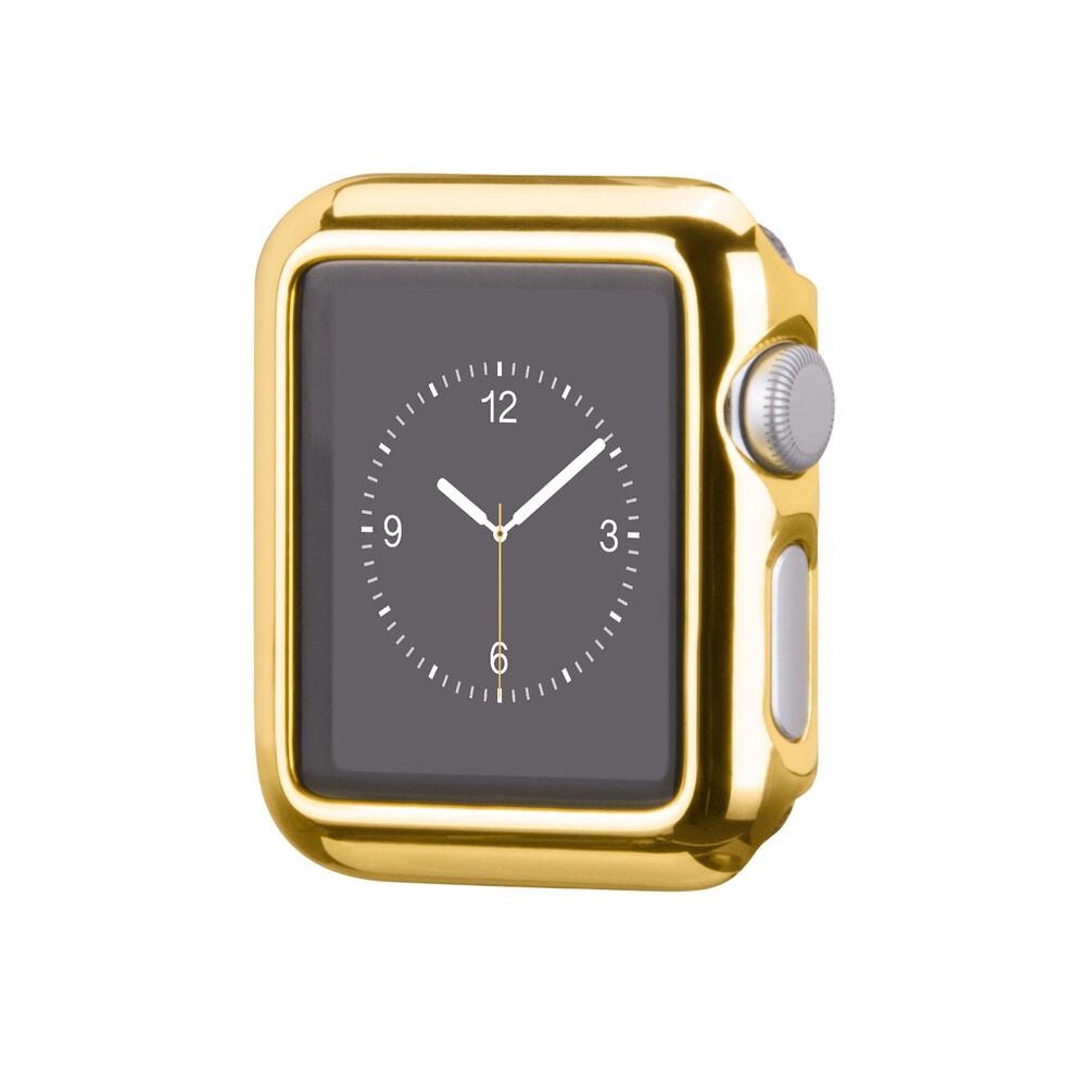 Чехол HOCO Defender Series Plating Golden для Apple Watch 38mm Series 2/3