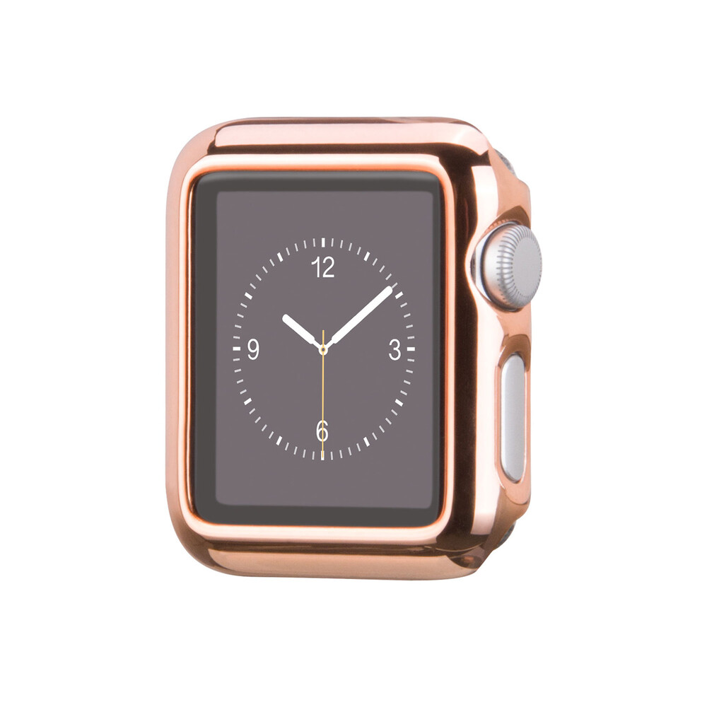 Чехол HOCO Defender Series Plating Rose Golden для Apple Watch 38mm Series 2/3