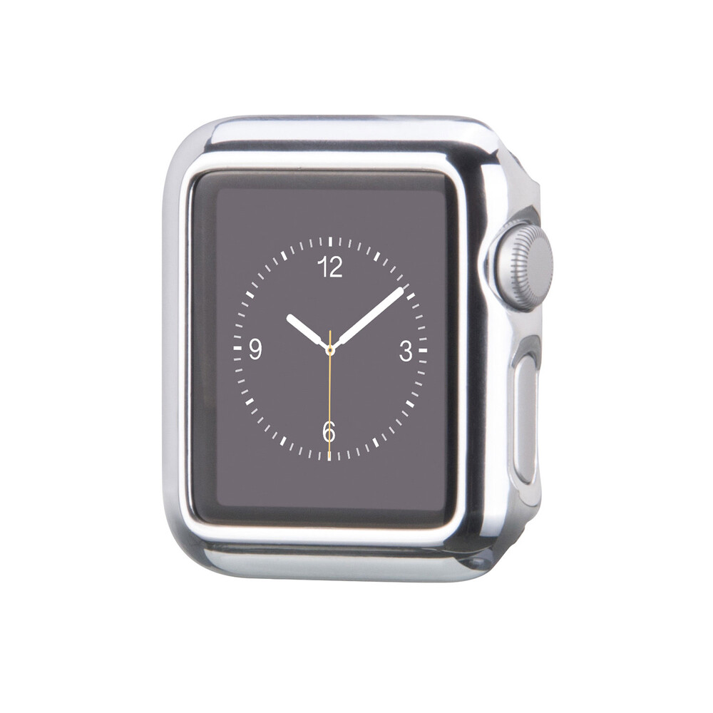 Чехол HOCO Defender Series Plating Silver для Apple Watch 38mm Series 2