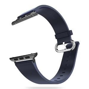 Купить Кожаный ремешок HOCO Leather Blue для Apple Watch 38mm Series 1/2