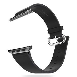Купить Кожаный ремешок HOCO Leather Black для Apple Watch 38mm Series 1/2/3