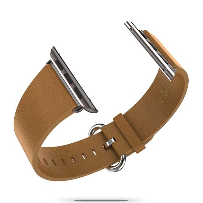 Кожаный ремешок HOCO Leather Brown для Apple Watch 42mm