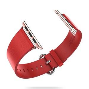 Купить Кожаный ремешок HOCO Leather Red для Apple Watch 42mm Series 1/2