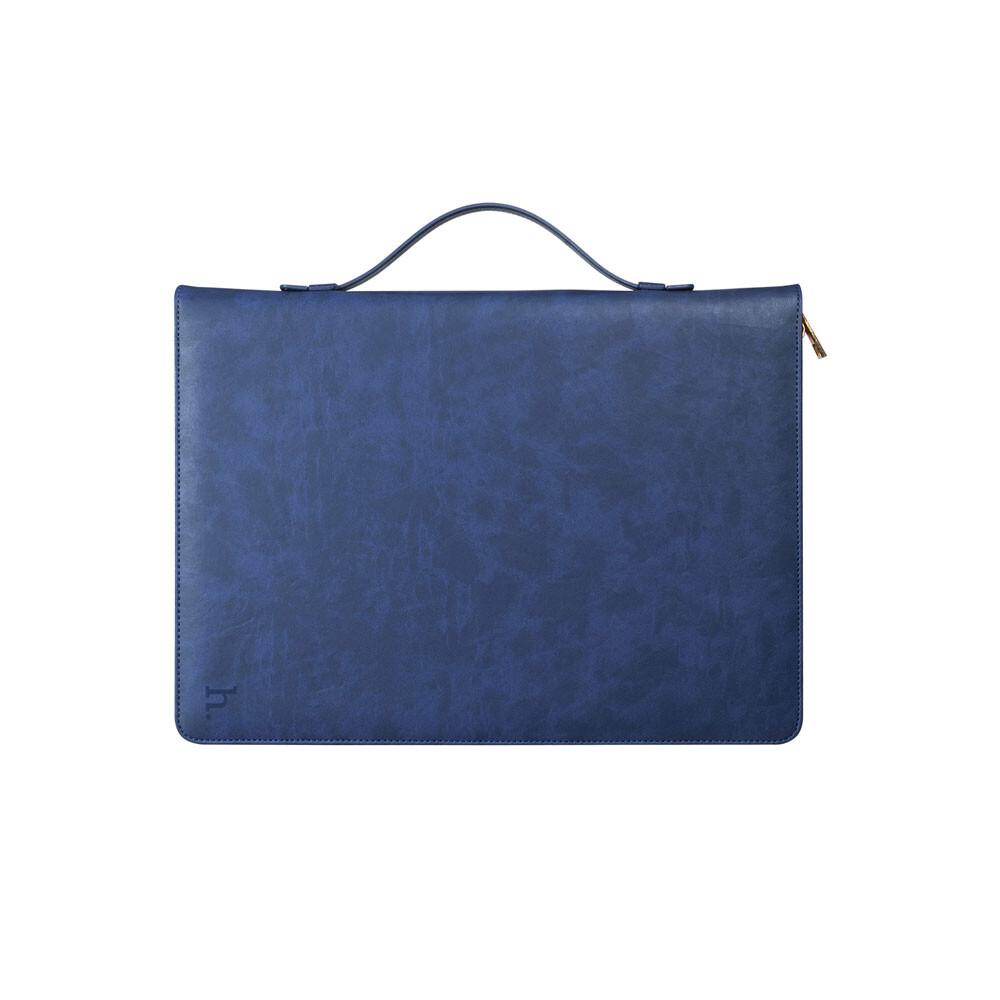"Кожаный чехол HOCO Portfolio Series Blue для iPad Pro 12.9"""