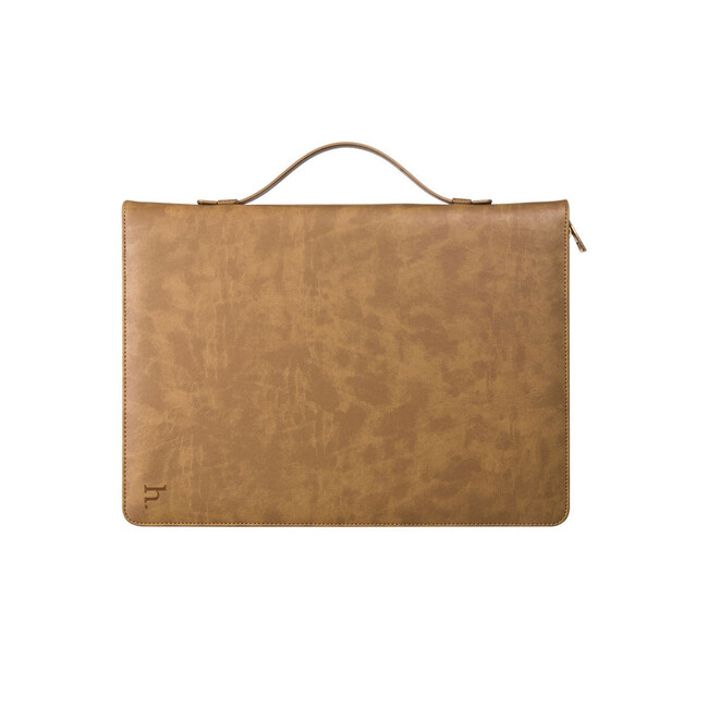 "Кожаный чехол HOCO Portfolio Series Brown для iPad Pro 12.9"""