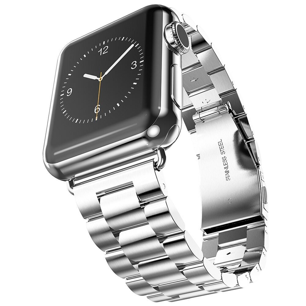 Металлический ремешок HOCO Stainless Steel Silver для Apple Watch 38mm Series 1/2