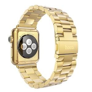 Купить Металлический ремешок HOCO Stainless Steel Yellow Gold для Apple Watch 42mm Series 1/2/3