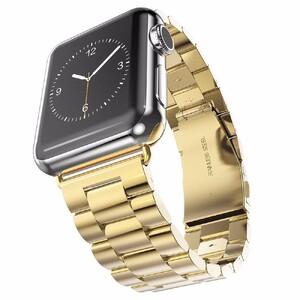 Металлический ремешок HOCO Stainless Steel Yellow Gold для Apple Watch 38mm