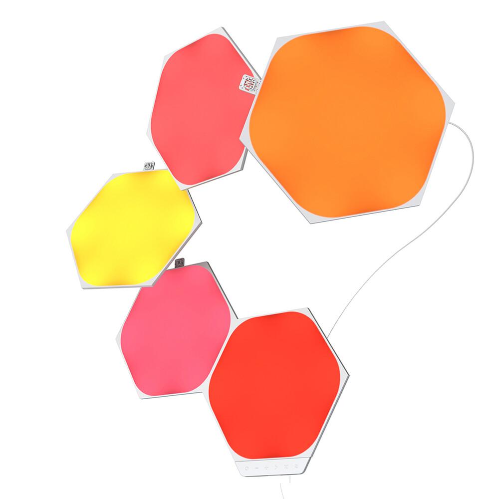 Умная система освещения Nanoleaf Shapes Hexagon Starter Kit Apple Homekit (5 модулей)