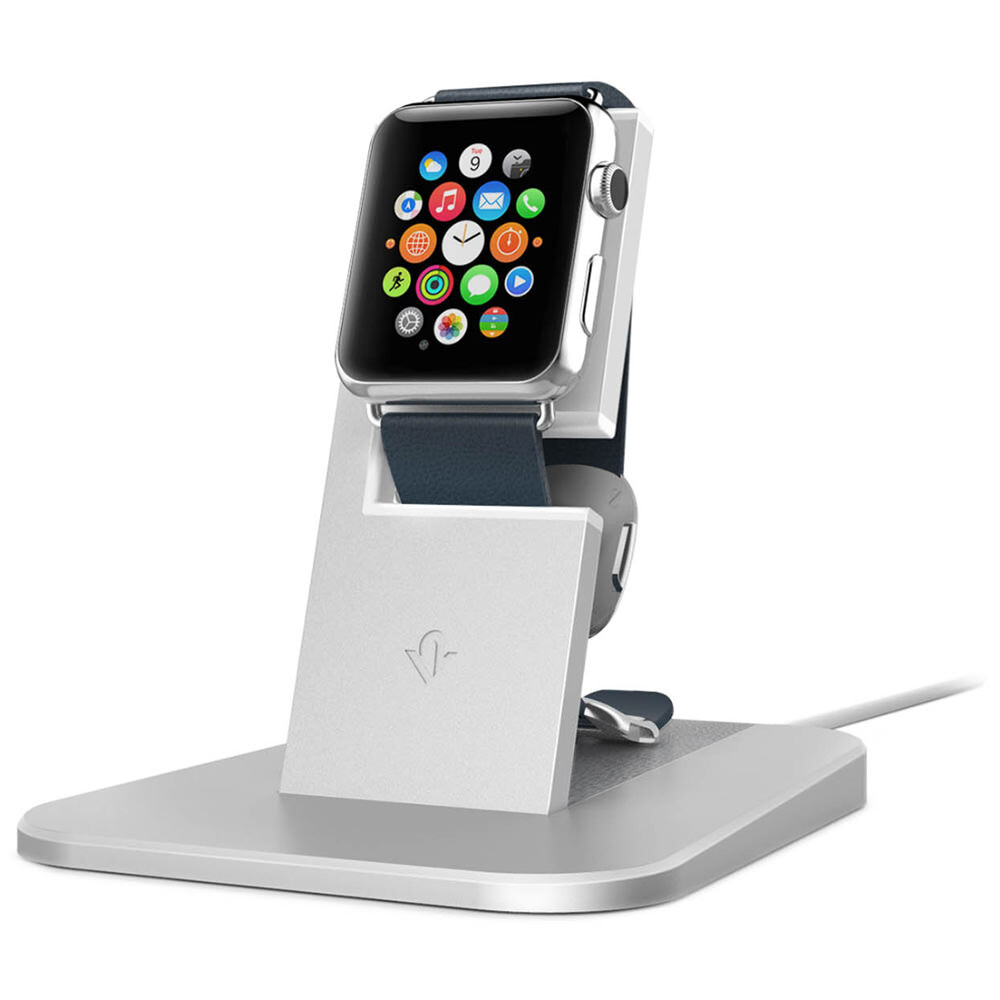 Подставка Twelve South HiRise Silver для Apple Watch
