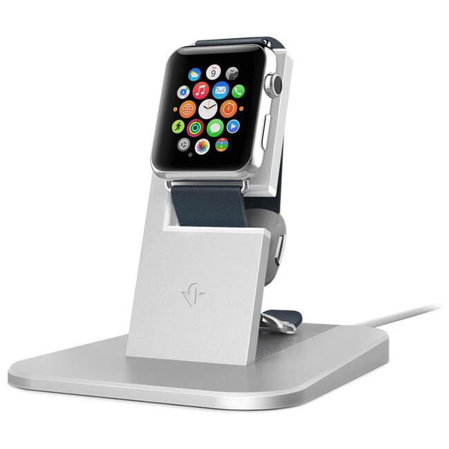 Подставка Twelve South HiRise Silver для Apple Watch