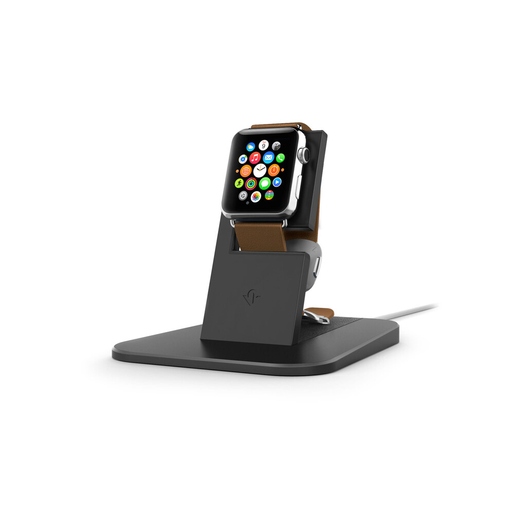 Подставка Twelve South HiRise Black для Apple Watch