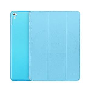 "Кожаный чехол Hoco Cube Series Blue для iPad Pro 9.7"""