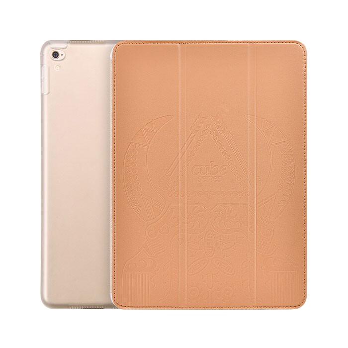 "Кожаный чехол Hoco Cube Series Brown для iPad Pro 9.7"""