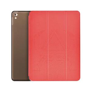 """Купить Кожаный чехол Hoco Cube Series Red для iPad Pro 9.7"""""""