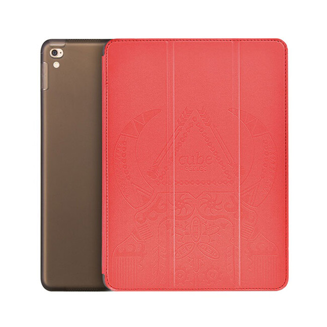 """Кожаный чехол Hoco Cube Series Red для iPad Pro 9.7"""""""