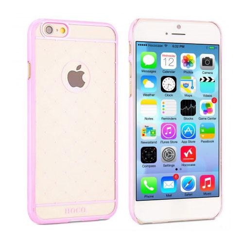 Чехол HOCO Defender Transparent Pink для iPhone 6/6s