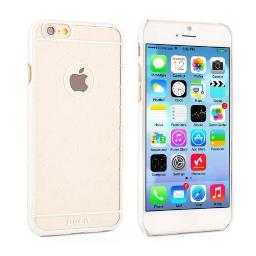 Чехол HOCO Defender Transparent Silver для iPhone 6/6s