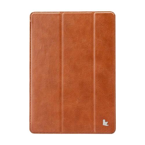 "Кожаный чехол Jisoncase Protective Skin Brown для iPad Pro 9.7"""