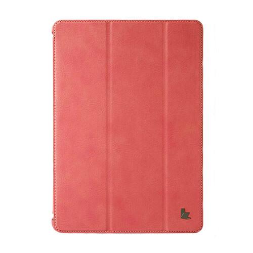 "Кожаный чехол Jisoncase Protective Skin Pink для iPad Pro 9.7"""