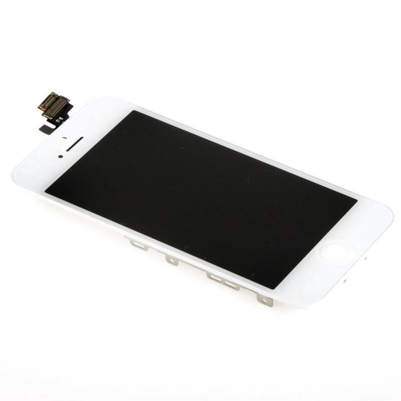 Белый дисплей для iPhone 5 (в сборе с тачскрином)