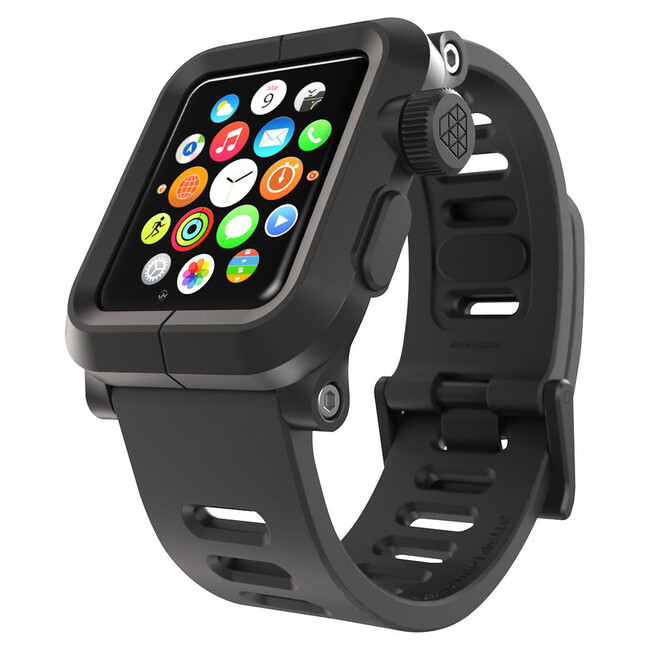 Чехол LUNATIK EPIK ALUMINUM Black для Apple Watch 42mm