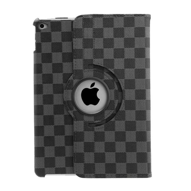 Кожаный чехол 360 LV Pattern Black для iPad Air 2