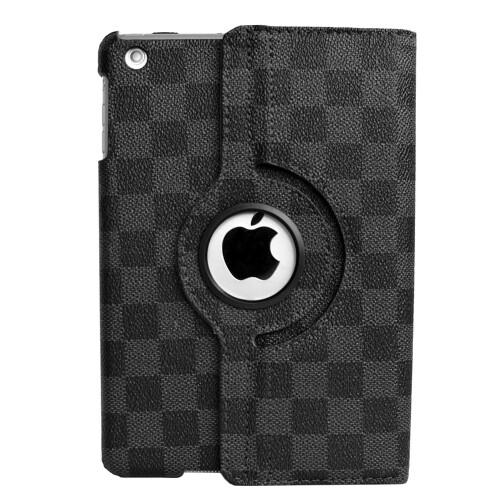 Кожаный чехол 360 LV Pattern Black для iPad mini 1/2/3
