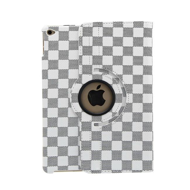 Кожаный чехол 360 LV Pattern White для iPad Air 2