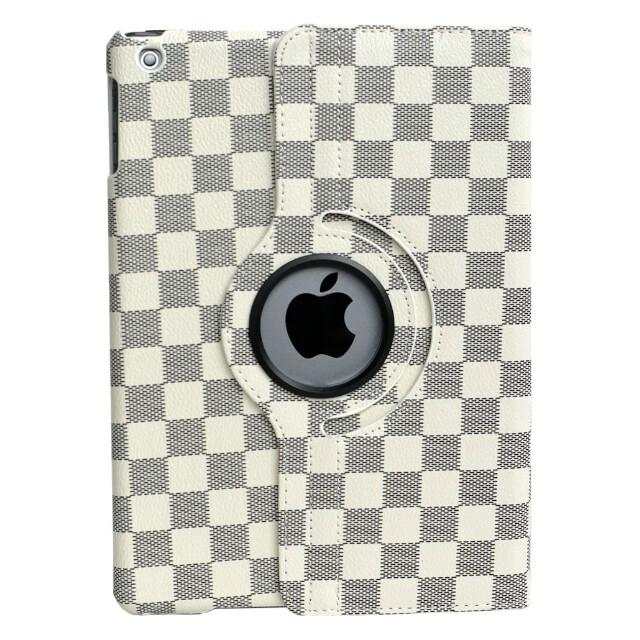 "Кожаный чехол 360 LV Pattern White для iPad Air/9.7"" (2017)"