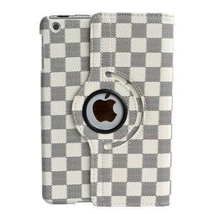Купить Кожаный чехол 360 LV Pattern White для iPad mini 1/2/3