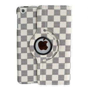 Купить Кожаный чехол 360 LV Pattern White для iPad mini 4