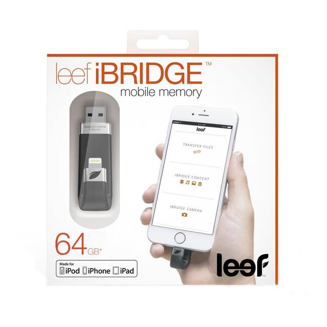 Флеш-накопитель Leef iBridge для iPhone/iPad/iPod