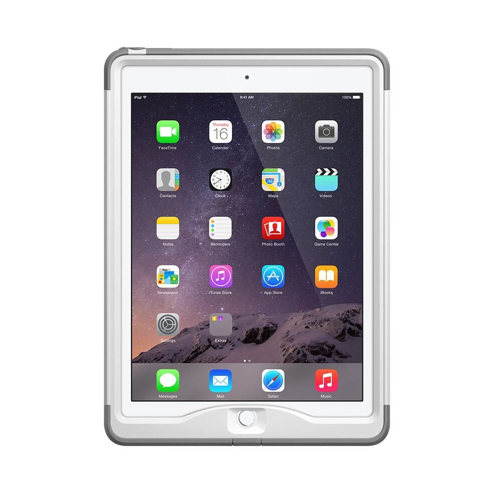 Чехол LifeProof NÜÜD White/Gray для iPad Air 2