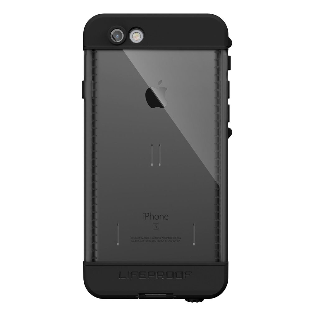 Чехол LifeProof NÜÜD Black для iPhone 6/6s