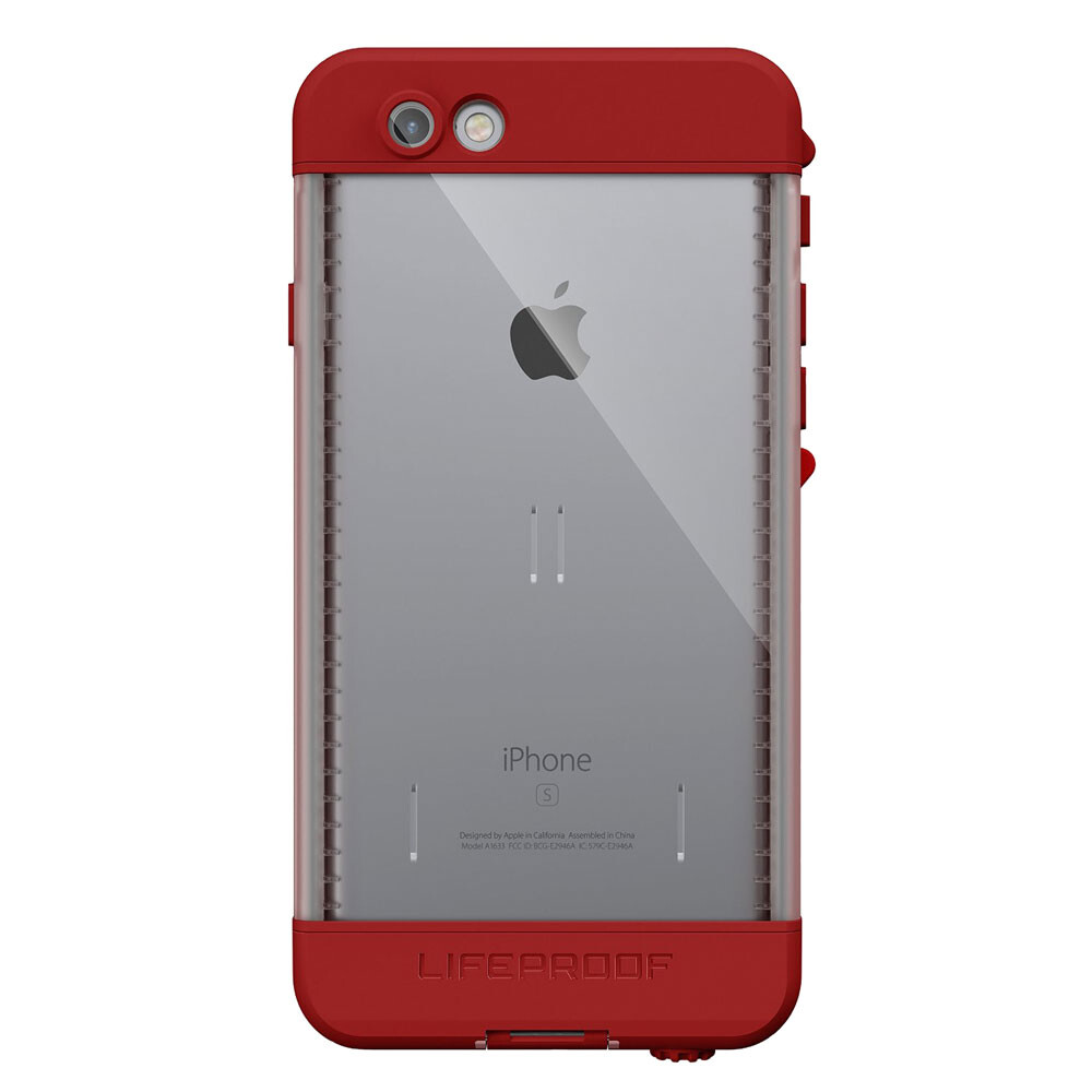 Чехол LifeProof NÜÜD Campfire Red для iPhone 6/6s