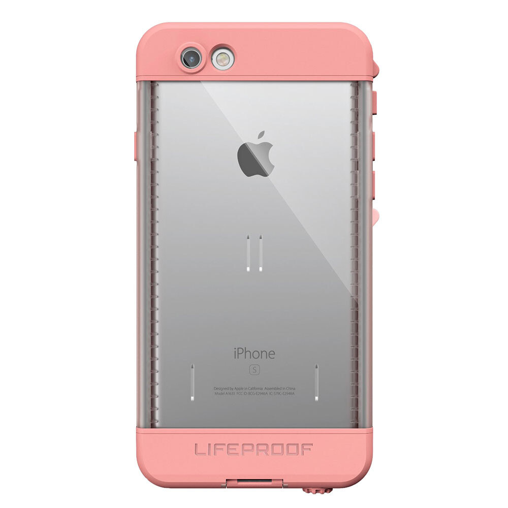Чехол LifeProof NÜÜD First Light Pink для iPhone 6/6s
