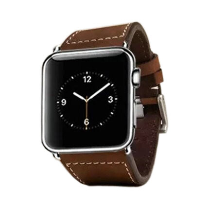 Кожаный ремешок LunaTik Chicago Collection Brown для Apple Watch 38mm Series 1/2