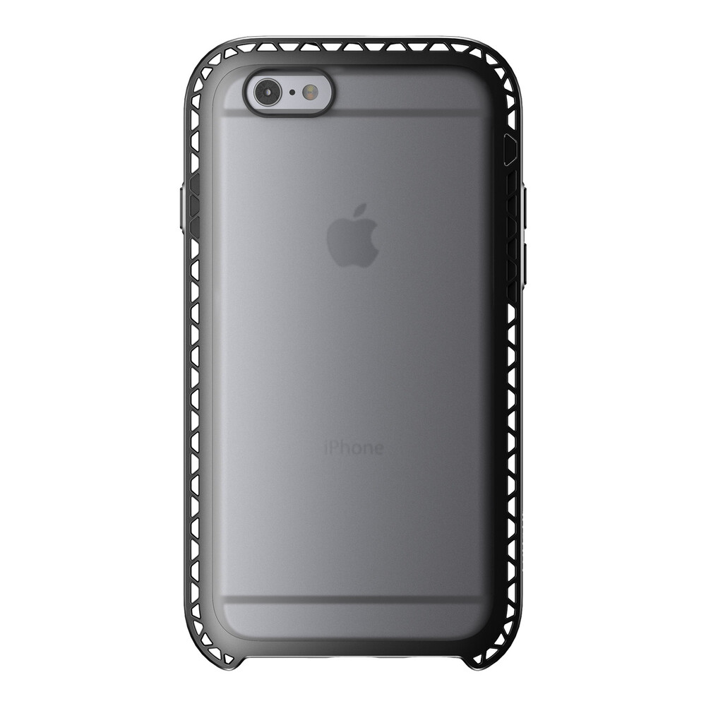 Чехол LunaTik SEISMIK Black Clear для iPhone 6/6s