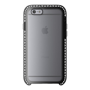 Чехол LunaTik SEISMIK Black Clear для iPhone 6/6s