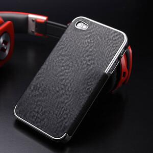 Купить Чехол-накладка OYO Chrome Black для iPhone 5/5S/SE