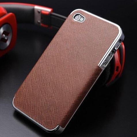 Чехол-накладка OYO Chrome Brown для iPhone 5/5S/SE
